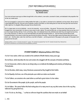 Text Reformulation - Overview, Worksheet, and Example
