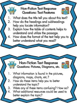 Text Response Question Cards