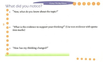 Text Savvy-Friday- The Big Picture