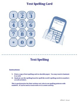 Text Spelling
