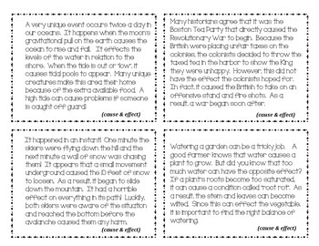 Text Structure 4 Corners Game