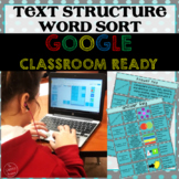 Nonfiction Text Structure Activity - Word Sort (Common Cor