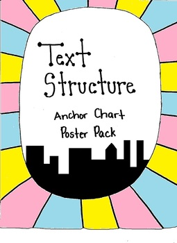 Text Structure Anchor Chart Poster Pack