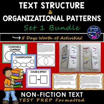 Text Structure/ Author Organization Bundle