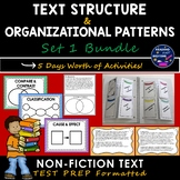 Text Structure/ Author Organization Bundle