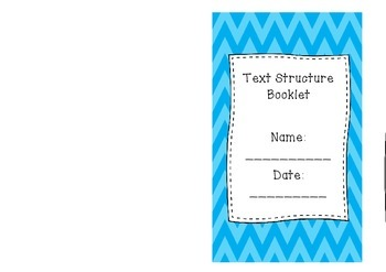 Text Structure Booklet