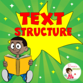 Text Structure Boom Cards - Distance Learning
