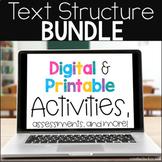 Text Structure Bundle: Text Structure Digital Escape and T