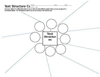 Text Structure Catcher