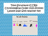 Text Structure-Chronological Order Non-Fiction