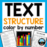 Text Structure Color by Number
