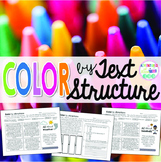 Text Structure Coloring Printables