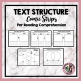 Text Structure Comic Strips for Reading Comprehension