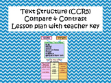 Text Structure- Compare and Contrast