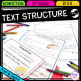 Text Structure: Connecting Sentences and Paragraphs - 3rd Grade RI.3.8