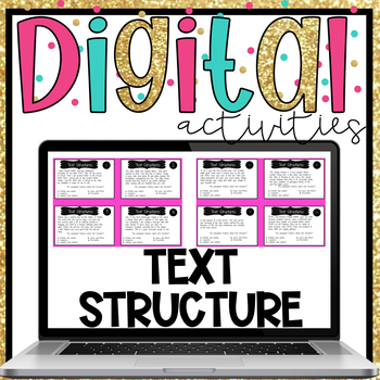 Text structure flip book teaching resources teachers pay teachers text structure digital activities text structure digital activities stopboris Images