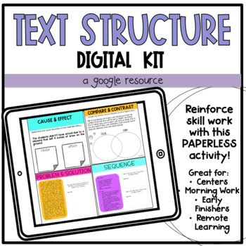 Text Structure Digital Activity