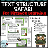 Text Structure - Distance Learning