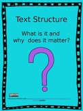 Text Structure Explained - Interactive Powerpoint Lesson