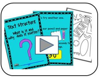 Text Structure Explained:  Screencast video