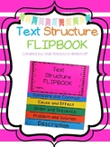 Text Structure Flip Book