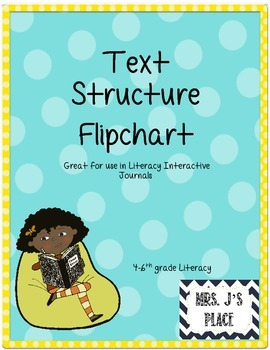Text Structure Flipchart