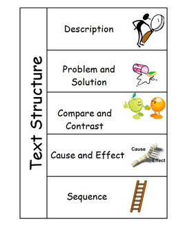Text Structure Foldable