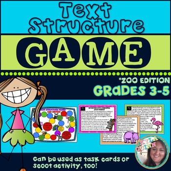 Text Structure Game: Zoo Edition