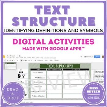 Text Structure - Google Classroom Activity