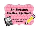 Text Structure Graphic Organizer