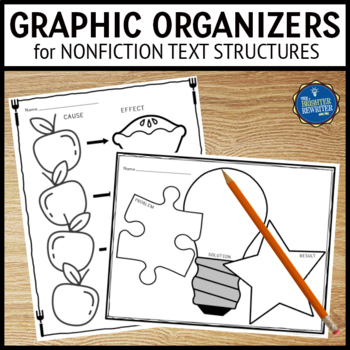 Text Structures Graphic Organizers