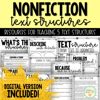 Text Structure Guide - Grades 4-6