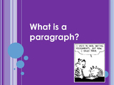 Text Structure- Intro to Paragraphs