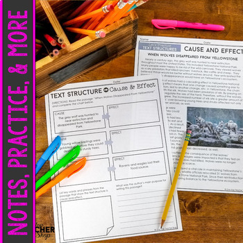 Nonfiction Text Structures - COMPLETE Unit