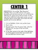Text Structure / Expository Writing: Learning Centers