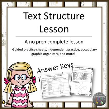 Text Structure Lesson