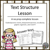 Text Structure Lesson