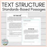 Text Structure Literature Reading Comprehension Passages a
