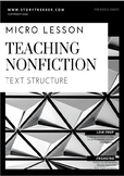 Text Structure Micro Lesson
