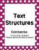 Text Structure Mini Posters