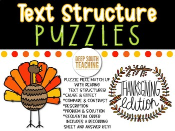 Text Structure PUZZLES