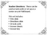Text Structure Passages