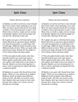 Text Structure Passages Bundle