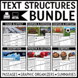 Text Structures Passages Bundle