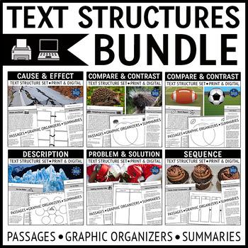 Text Structures Passages Bundle