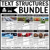 Text Structures Reading Passages Bundle