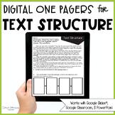 Text Structure Passages (Print & Digital)