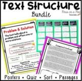 Nonfiction Text Structure Anchor Chart Text Structure Passages