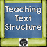 Text Structure Posters and Activities