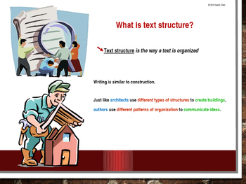 Text Structure Power Point